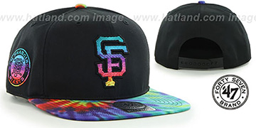 SF Giants 'MORRISON SNAPBACK' Hat by Twins 47 Brand