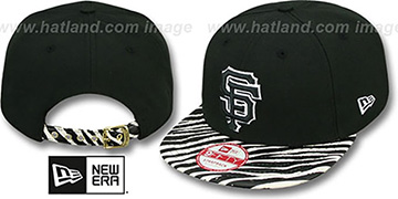 SF Giants OSTRICH-ZEBRA STRAPBACK Hat by New Era