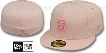 SF Giants PINKOUT Fitted Hat by New Era