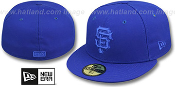 SF Giants 'ROYALOUT' Fitted Hat by New Era