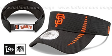 SF Giants 'SPEED-VISOR' Black by New Era