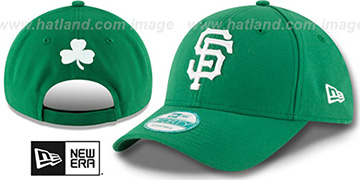 SF Giants 'ST PATRICKS DAY' Green Strapback Hat by New Era