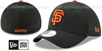 SF Giants 'TEAM-CLASSIC' Black Flex Hat by New Era