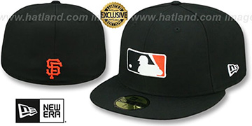 SF Giants TEAM MLB UMPIRE Black Hat by New Era