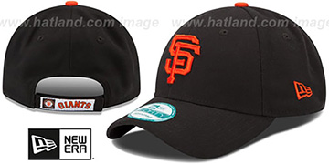 SF Giants 'THE-LEAGUE GAME STRAPBACK' Black Hat by New Era