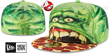Slimer 'CHARACTER FACE' Fitted Hat by New Era