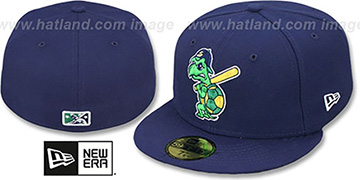 Snappers 'PERFORMANCE ALT-1' Navy Fitted Hat by New Era