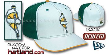 Sonics INSIDER PINWHEEL White-Kelly Fitted Hat by New Era