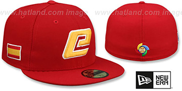 Spain 'PERFORMANCE WBC-2' Red Hat by New Era