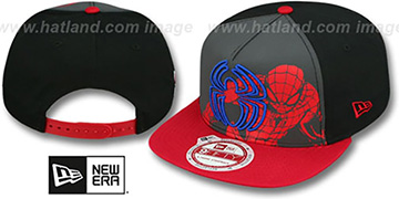 Spiderman 'POP REFLECT SNAPBACK' Hat by New Era