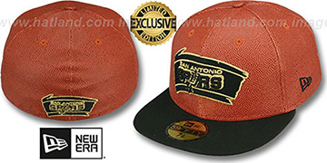 Spurs BASKET-BALLIN Fitted Hat by New Era
