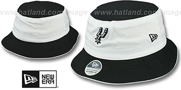 Spurs 'CRADER II' Bucket Hat by New Era