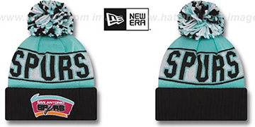 Spurs HWC 'REP-UR-TEAM' Knit Beanie Hat by New Era