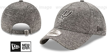 Spurs 'MICRO-TEAM STRAPBACK' Grey Hat by New Era