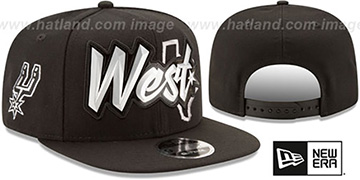 Spurs 'NBA ALL-STAR CONFERENCE BEVEL SNAPBACK' Hat by New Era