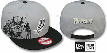 Spurs 'SIDE-TEAM WOLVERINE SNAPBACK' Hat by New Era