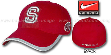 Stanford ELITE Basketball Hat by NIKE - cardinal
