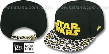 Star Wars OSTRICH-LEOPARD STRAPBACK Hat by New Era