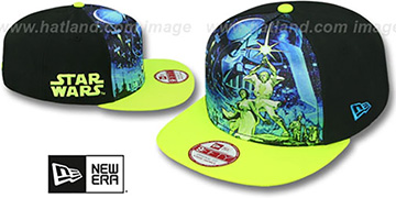Star Wars 'TEAM STANCE SNAPBACK' Hat by New Era