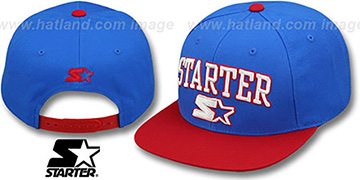 Starter 'ARCH-LOGO SNAPBACK' Royal-Red Hat
