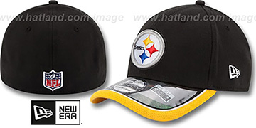 Steelers 2014 NFL STADIUM FLEX Black Hat by New Era