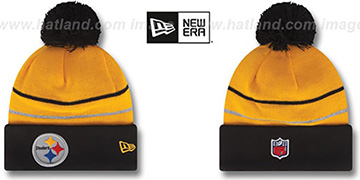 Steelers 'THANKSGIVING DAY' Knit Beanie Hat by New Era