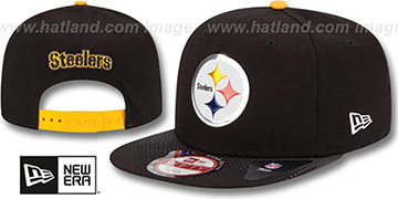 Steelers '2015 NFL DRAFT SNAPBACK' Black Hat by New Era