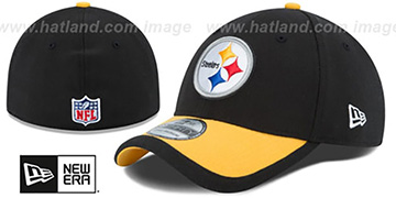Steelers 2015 NFL STADIUM FLEX Black-Gold Hat by New Era