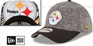 Steelers '2016 NFL DRAFT FLEX' Hat by New Era