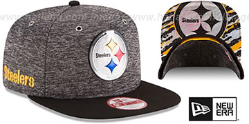 Steelers '2016 NFL DRAFT SNAPBACK' Hat by New Era