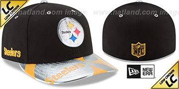 Steelers 2017 LOW-CROWN SPOTLIGHT Fitted Hat by New Era