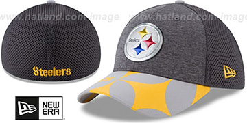 Steelers '2017 NFL ONSTAGE FLEX' Charcoal Hat by New Era