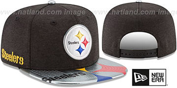Steelers 2017 NFL ONSTAGE SNAPBACK Hat by New Era