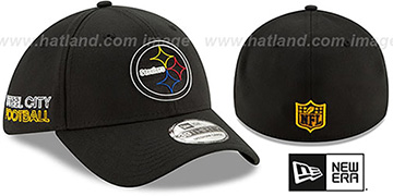 Steelers 2020 NFL VIRTUAL DRAFT FLEX  Hat by New Era