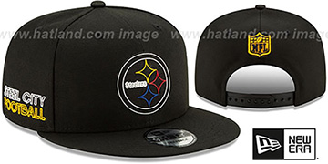 Steelers '2020 NFL VIRTUAL DRAFT SNAPBACK' Black Hat by New Era