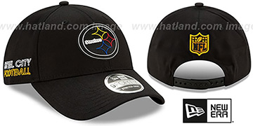 Steelers 2020 NFL VIRTUAL DRAFT STRETCH-SNAP Black Hat by New Era
