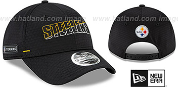 Steelers COACHES TRAINING SNAPBACK Hat by New Era