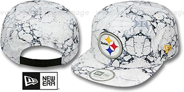 Steelers 'MARBLE MIX SNAPBACK' Hat by New Era
