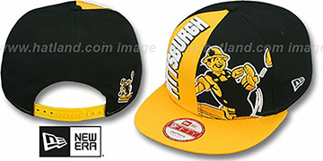 Steelers 'NE-NC THROWBACK DOUBLE COVERAGE SNAPBACK' Hat by New Era