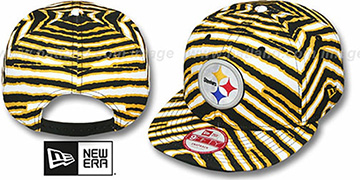 Steelers 'NFL ALL-OVER ZUBAZ SNAPBACK' Hat by New Era