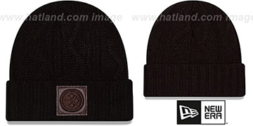 Steelers 'OHANA' Black Knit Beanie Hat by New Era