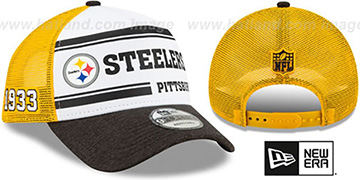 Steelers ONFIELD STADIUM 100 TRUCKER SNAPBACK Hat by New Era