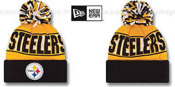 Steelers 'REP-UR-TEAM' Knit Beanie Hat by New Era