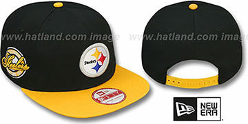 Steelers SAID SNAPBACK Black-Gold Hat by New Era