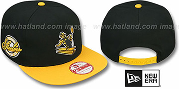 Steelers 'SAID THROWBACK SNAPBACK' Black-Gold Hat by New Era