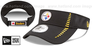 Steelers 'SPEED-VISOR' Black by New Era