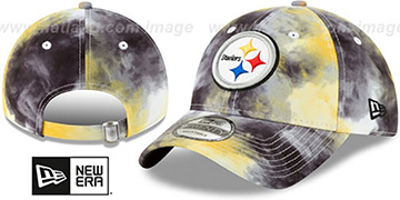 Steelers TIE-DYE STRAPBACK Hat by New Era