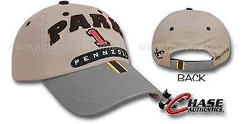 Steve Park SPEED LEAGUE Racing Hat - khaki-grey