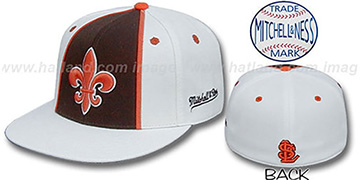 StL Browns 'ALTERNATE ZELLA' Hat by Mitchell and Ness