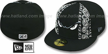 Storm BLACK BANDITO Fitted Hat by New Era